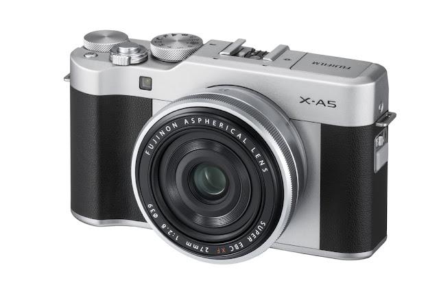 Fotografia della Fuji X-A5 con il 27mm