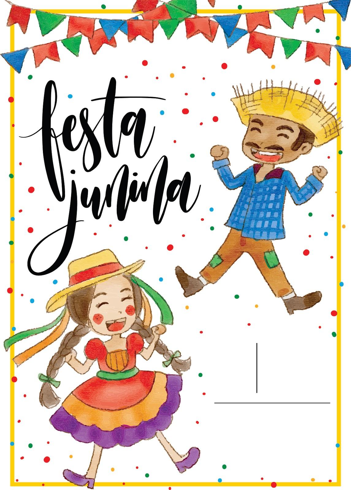 Convite Para Festa Junina Baixe Gratuitamente Guia Tudo Festa Blog De Festas Dicas E Ideias