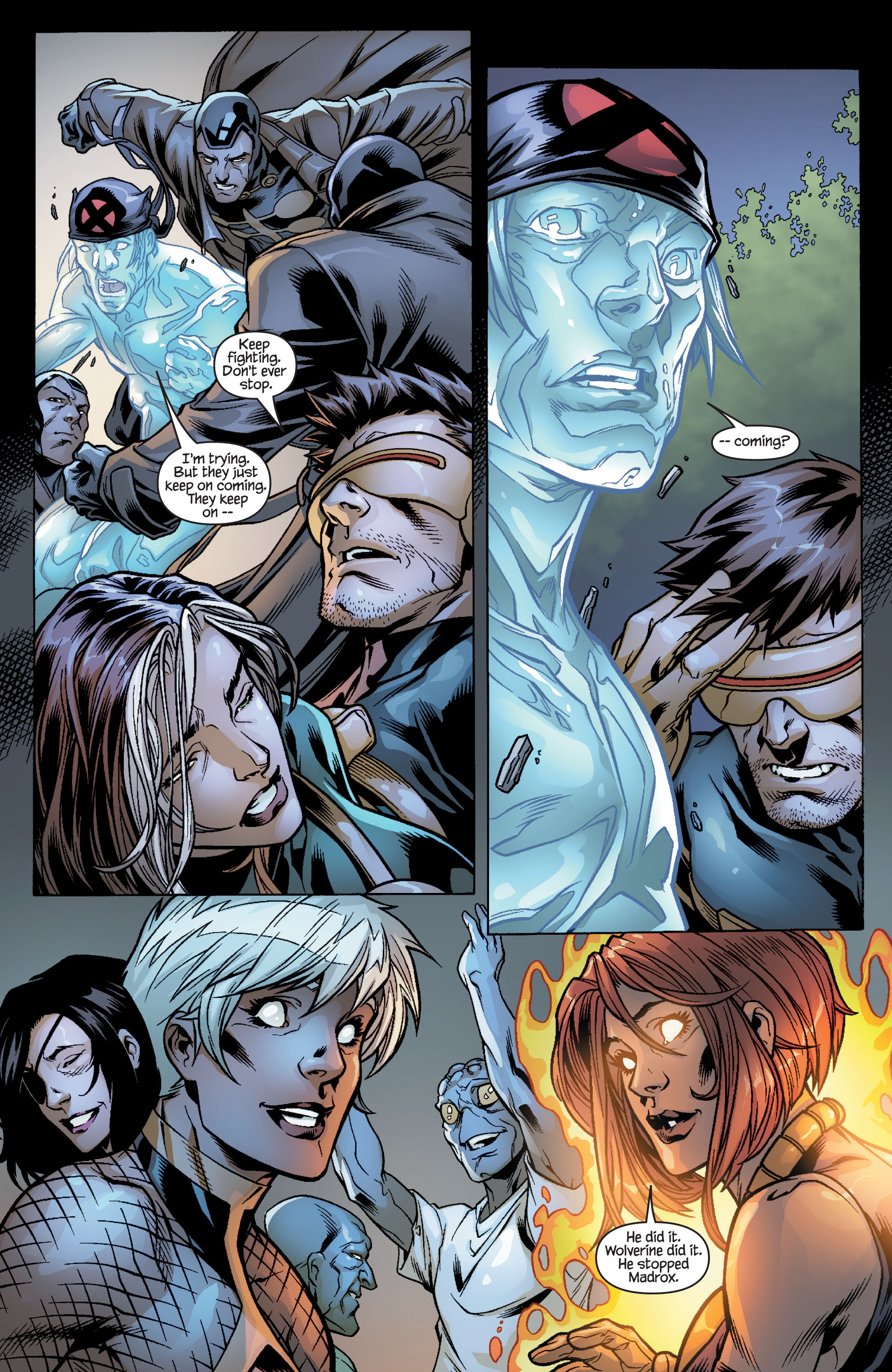 Read online Ultimate X-Men comic -  Issue #100 - 24