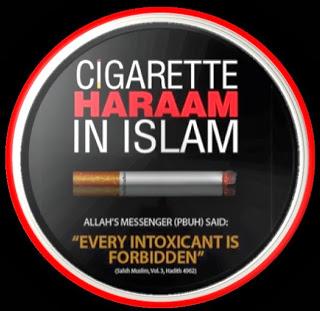 rokok haram dalam Islam