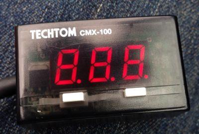 HONDA車用テクトムCMX100動作実験電源ON