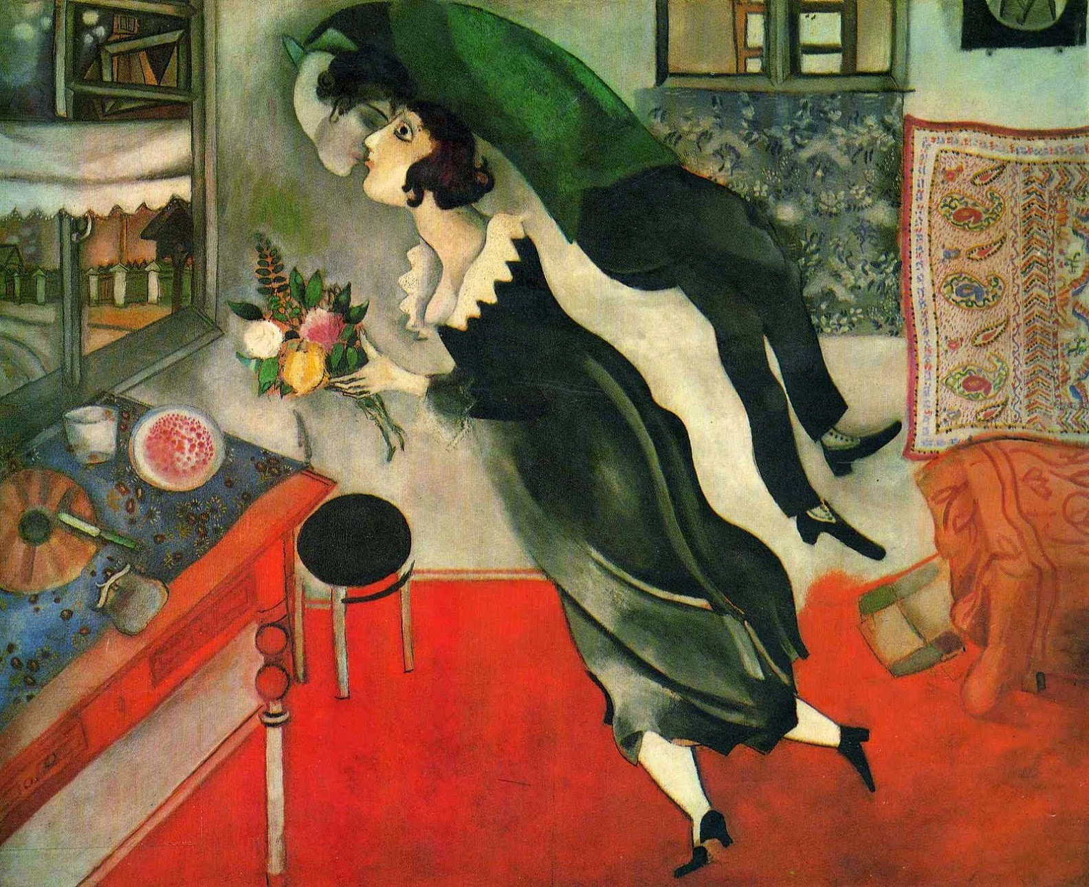 Birthday or Anniversary (Marc Chagall, 1915)