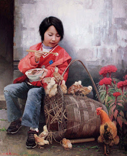 mujeres-pintura-realista-oleo