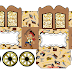 Jake and the Neverland Pirates: Princess Carriage Shaped Free Printable Box.