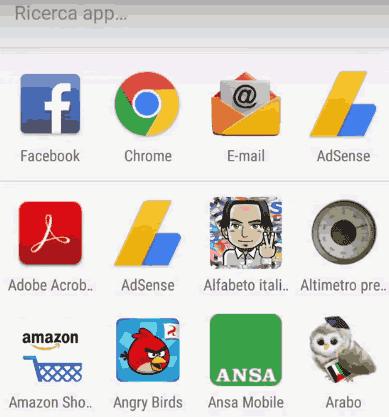 Come togliere le app recenti da Android