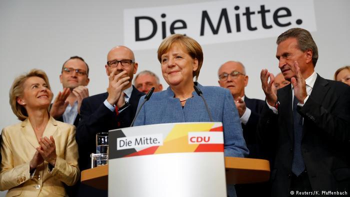 النتائج الرسمية غير النهائية للانتخابات الألمانية