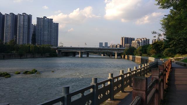 River Watching Tower, Wangjianglou Park, Places to see in Chengdu, Buddha Statue, Buddha Template, China, Chengdu,