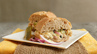 Light Curried Chicken Salad