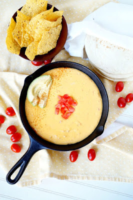 Tailgate Time! 20+ Favorite Recipes - 6 Ingredient Traditional Yellow Queso