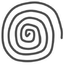 gambar spiral penghipnotis