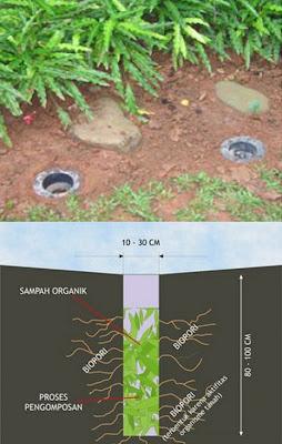 Resapan Biopori Pengertian Biopori Serta Manfaatnya