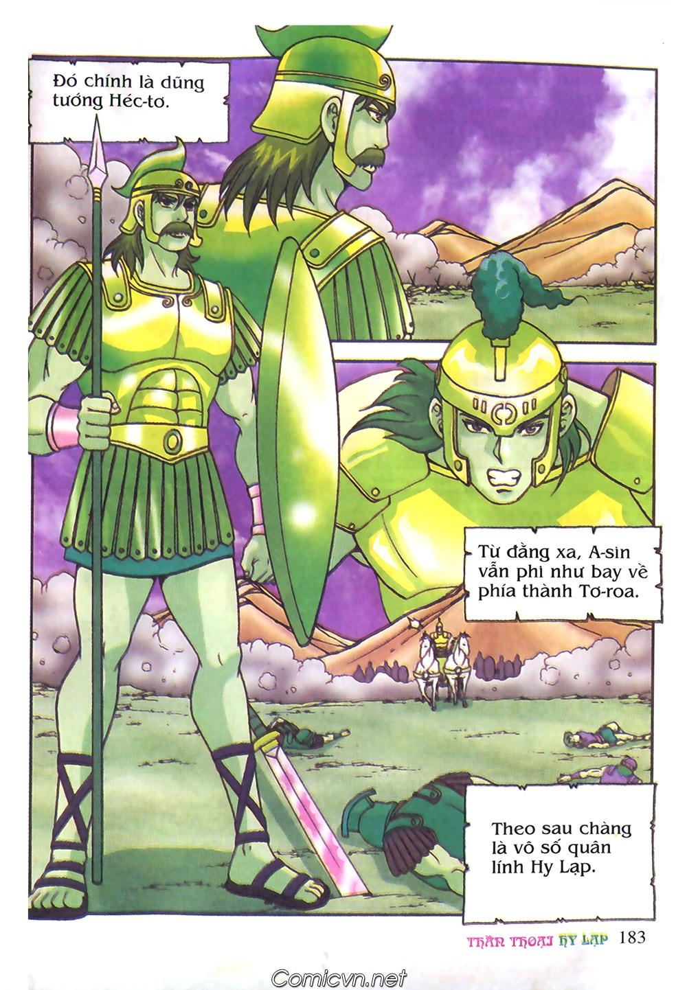 Thần Thoại Hy Lạp Màu - Chapter 61: So tài của hai vị tướng - Pic 12