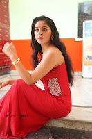 Actress Zahida Sam Latest Stills in Red Long Dress at Badragiri Movie Opening .COM 0137.JPG