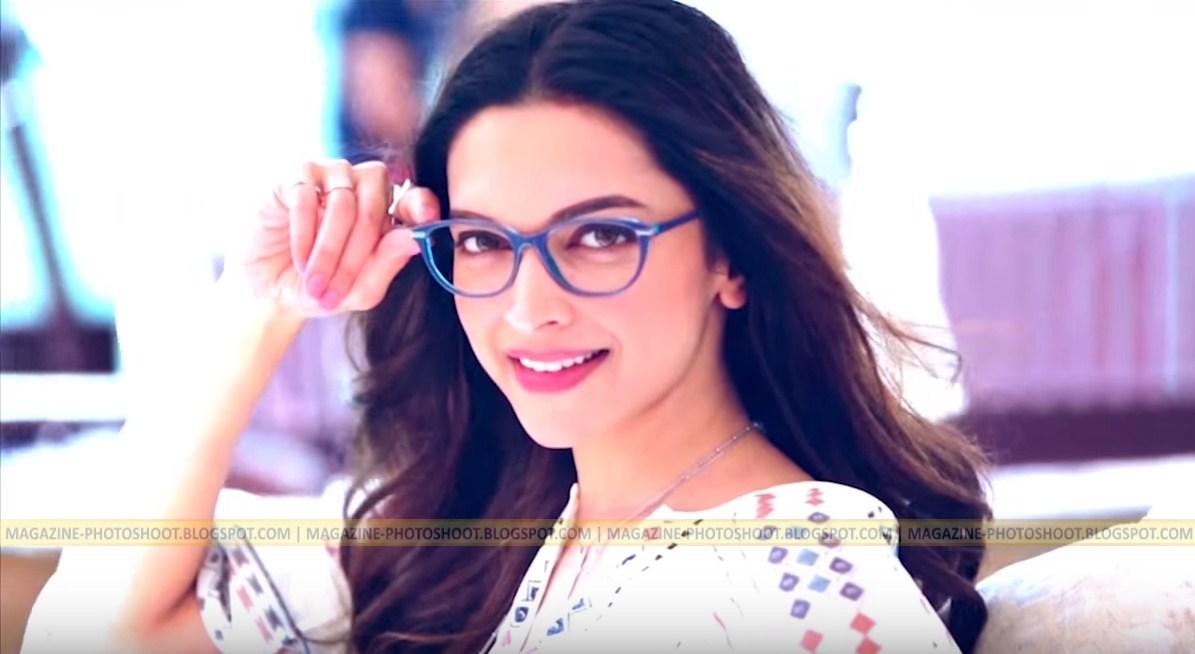 Deepika Padukone Photoshoot in Dubai for Vogue eyewear SS