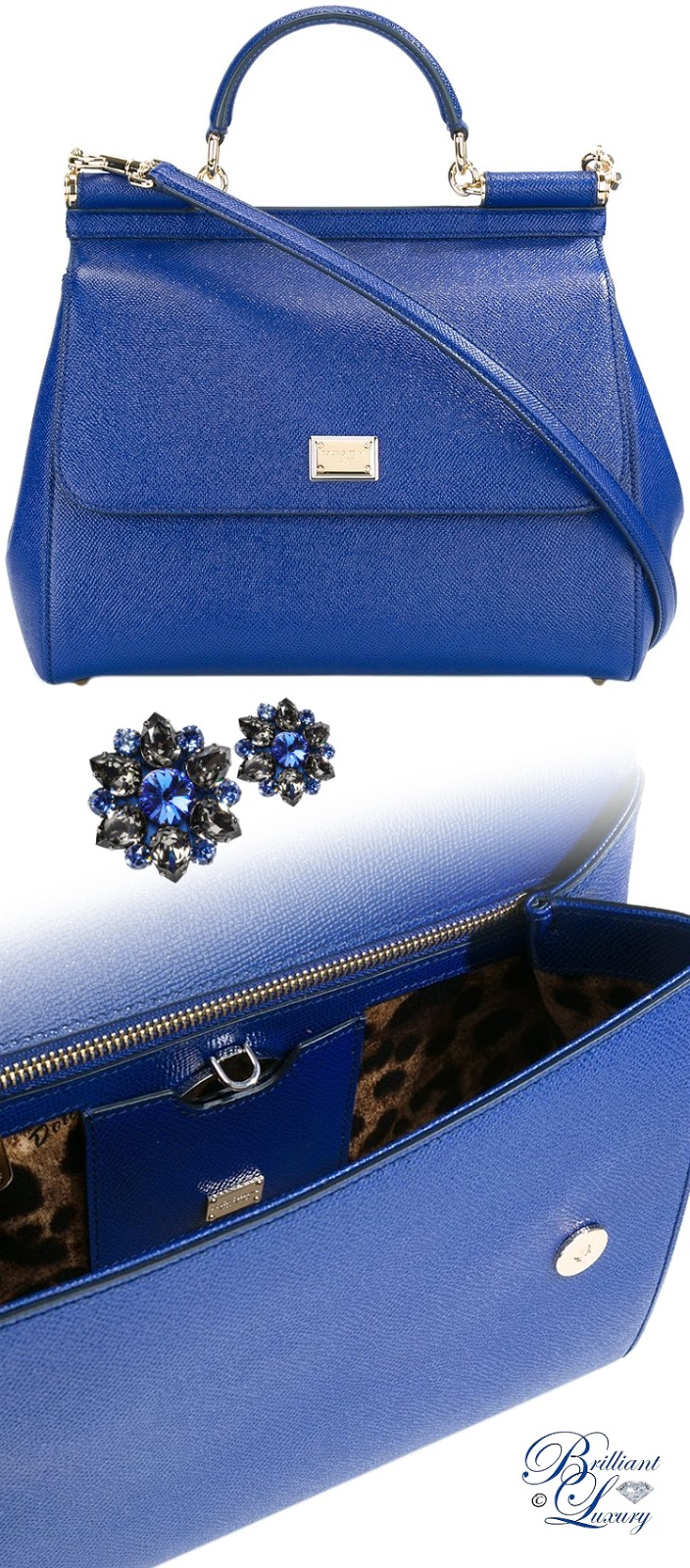 Brilliant Luxury ♦ Dolce & Gabbana Large Sicily Tote