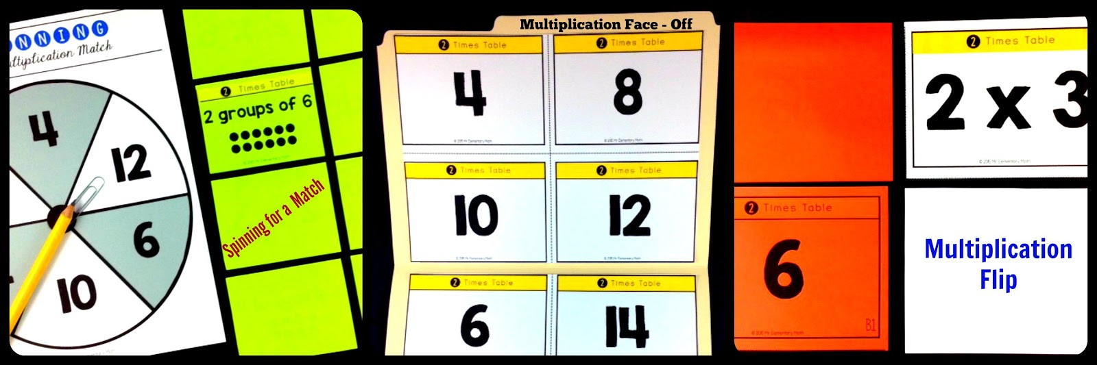 5 fun ways to teach multiplication facts mr elementary math ive created one for each of the multiplication facts to 12 this resource is great because it includes 3 different multiplication games student study gamestrikefo Images