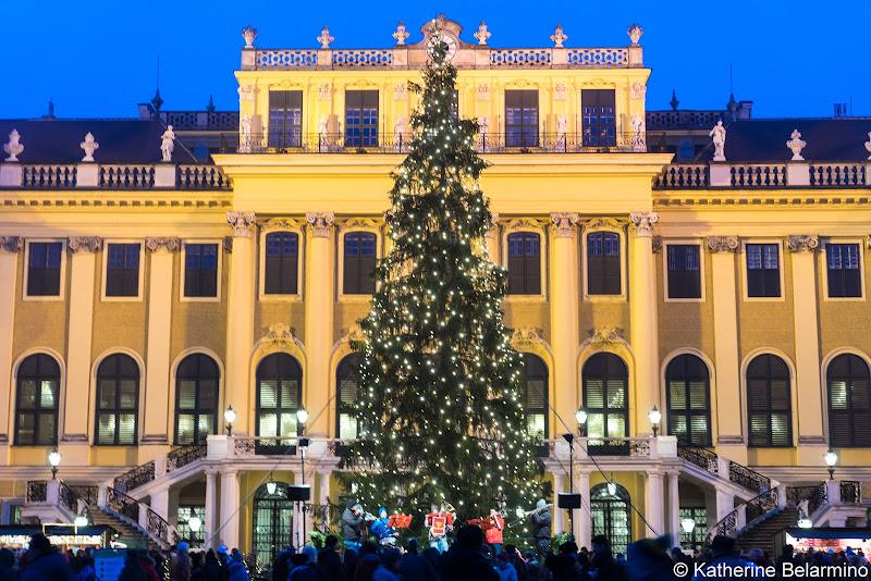 Schonbrunn Palace Christmas Market European Christmas Markets Danube River
