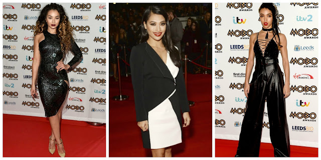 MOBOs Best Dressed/ Ella Eyre/ FKA Twigs/Vanessa White