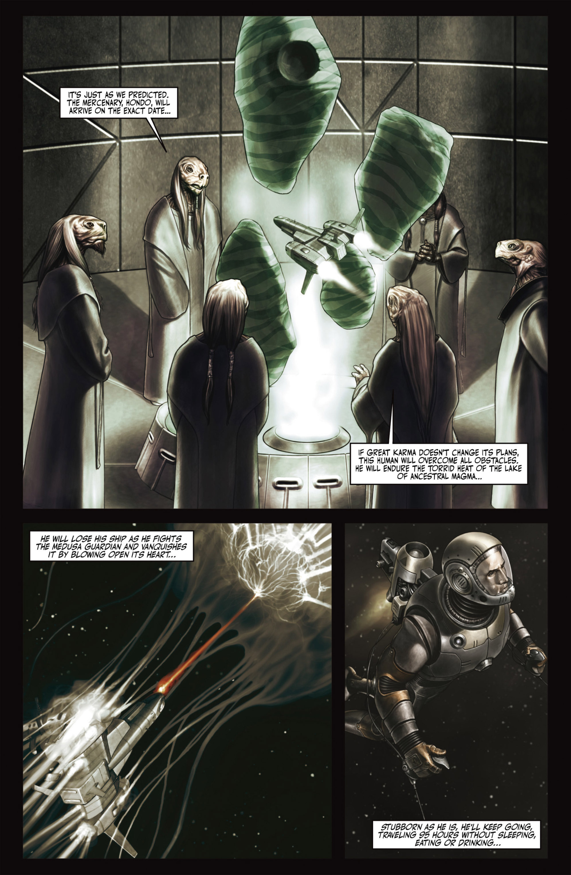 Read online Alejandro Jodorowsky's Screaming Planet comic -  Issue #2 - 26