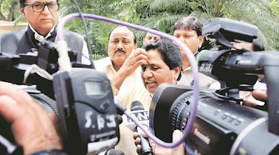 Two BSP MLAs accuse Mayawati of selling tickets, suspended