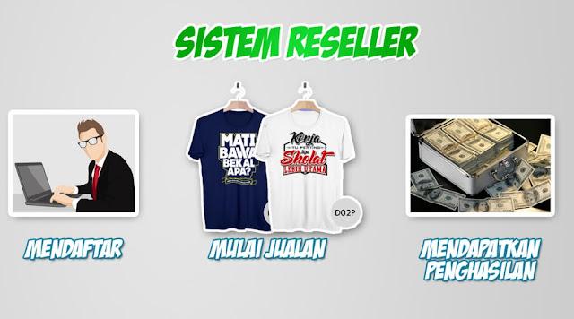 Sistem Yang Ditawarkan oleh Penyedia Kerjasama Online Shop - reseller