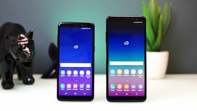 Harga Dan Spesifikasi Samsung Galaxy A8 Dan Galaxy A8 Plus 2018