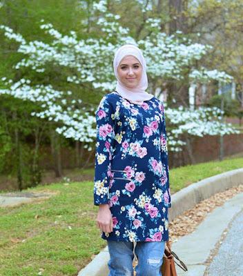 baju-muslim-motif-bunga