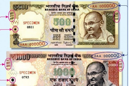 Noticed Changes In 500 and 1000 Banknotes? Know About These Latest Features