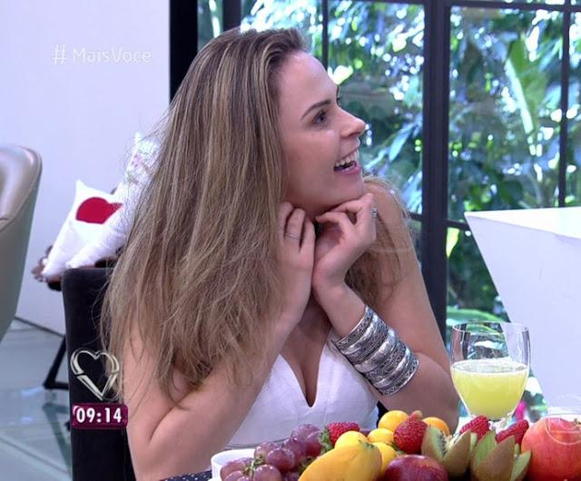 Ana Paula bbb16, pulseiras, Programa da Ana Maria Braga