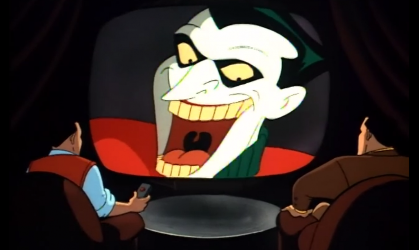 as the joker its a good thing hes getting work these days with the last jedi out in theaters so sit back as i try to once again rhyme this sucka - Batman The Animated Series Christmas With The Joker