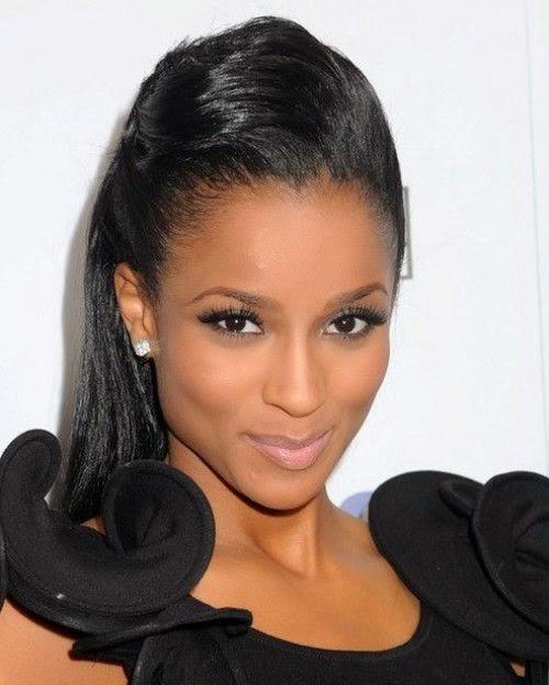 Wondrous Black Women Hairstyles Latest Black Hairstyles Ponytail 2015 Trends Hairstyles For Women Draintrainus