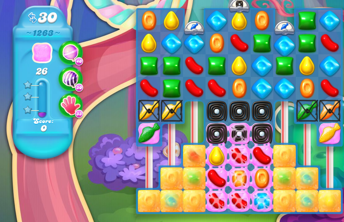 Candy Crush Soda Saga level 1263