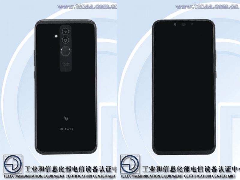 Huawei Mate 20 Lite TENAA leaks