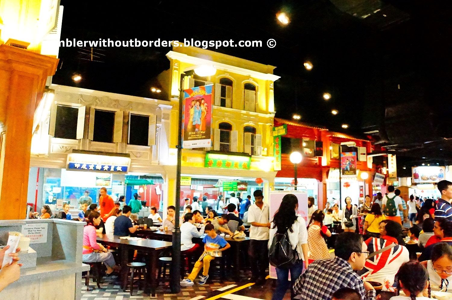 Interior, Malaysian Food Street, Sentosa, Singapore
