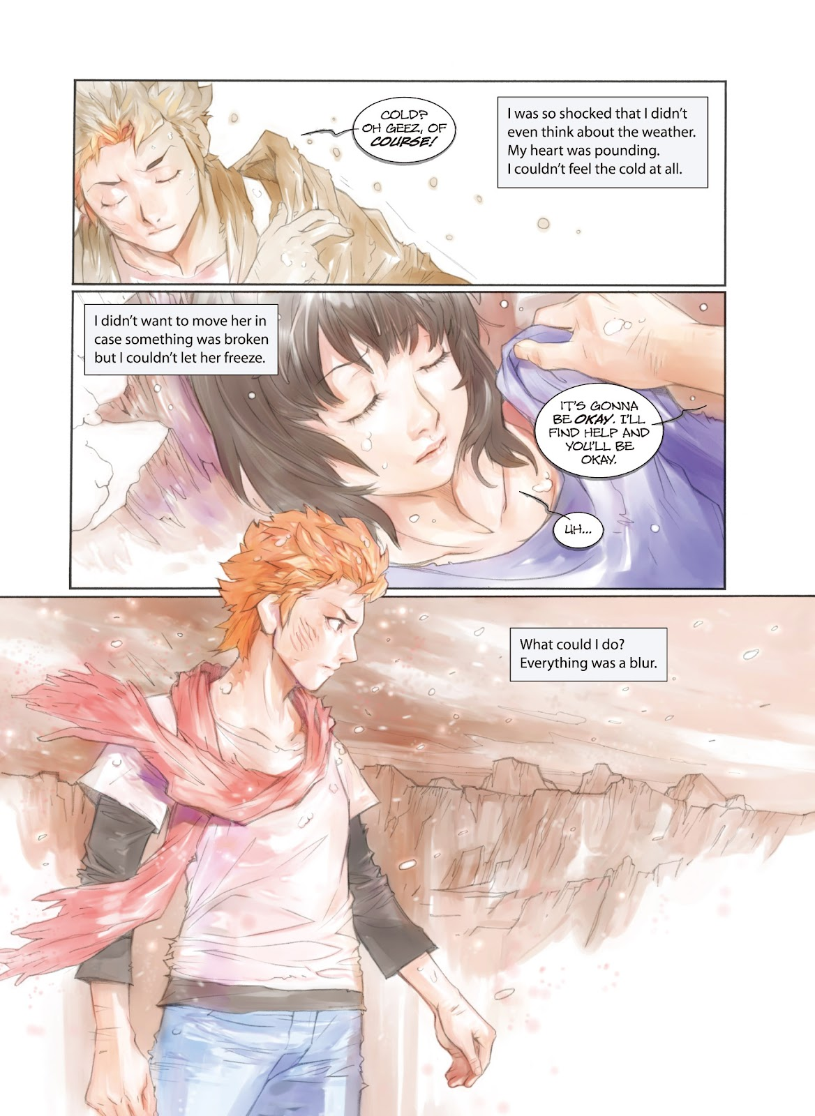 Read online Makeshift Miracle: The Girl From Nowhere comic -  Issue #2 - 6