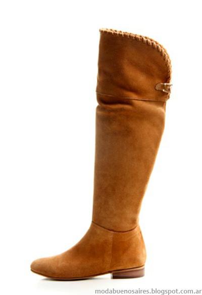Botas caña alta moda invierno 2013