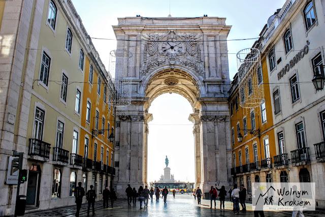 Łuk triumfalny w Lizbonie