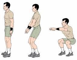 Gerakan squat jongkok