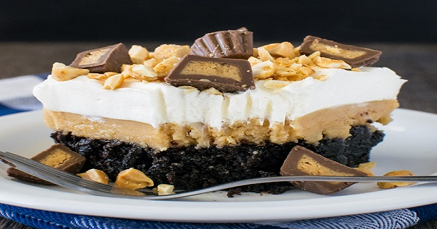 Peanut Butter Brownie Dessert Recipe