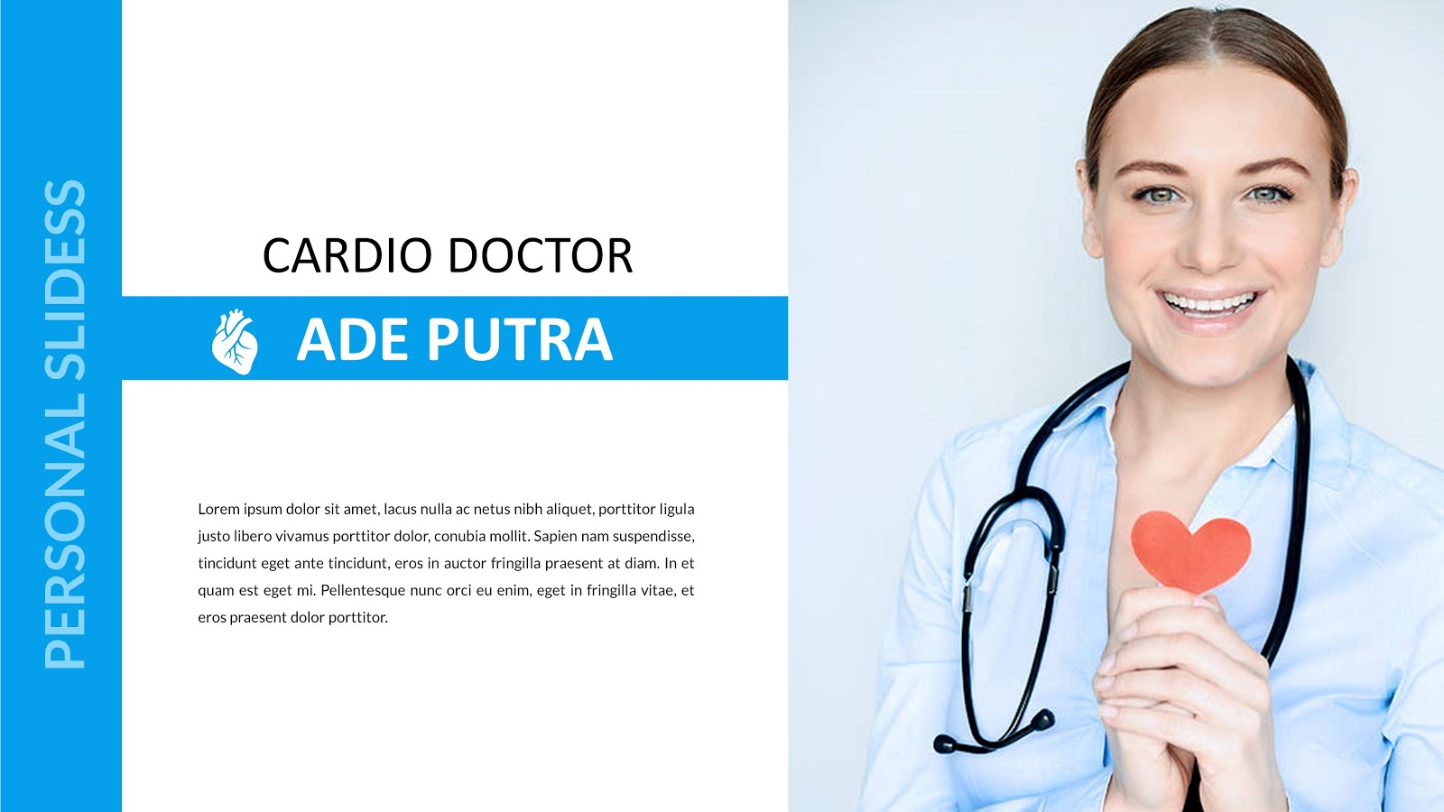 slide powerpoint Health doctor