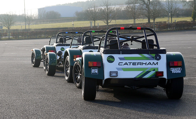 Caterham 7 Drift Experience review