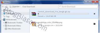 Cara melanjutkan download yang terputus, gagal, error di google chrome dengan mudah