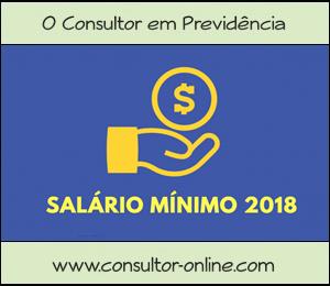 Quanto Contribuir à Previdência Social, em 2018, pelo Mínimo.