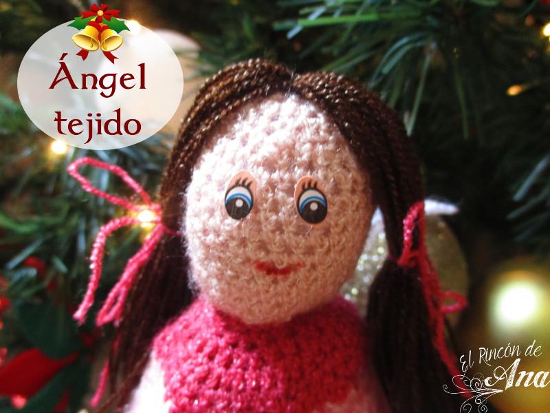 Ángel navideño - Mi primer amigurimi