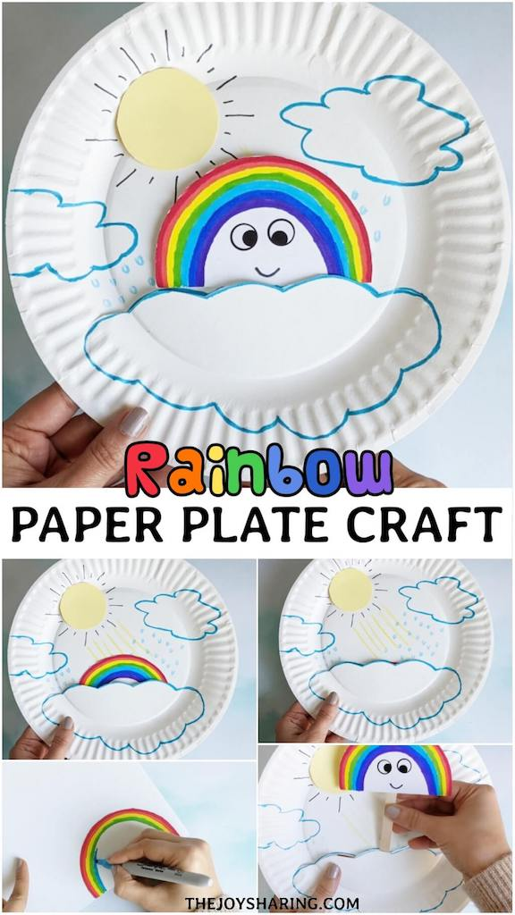 Fun craft to talk about rainbow formation