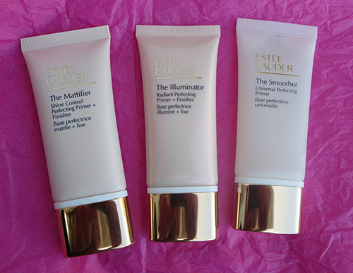Estee Lauder New Primers The Mattifier - The Illuminator - The Smoother