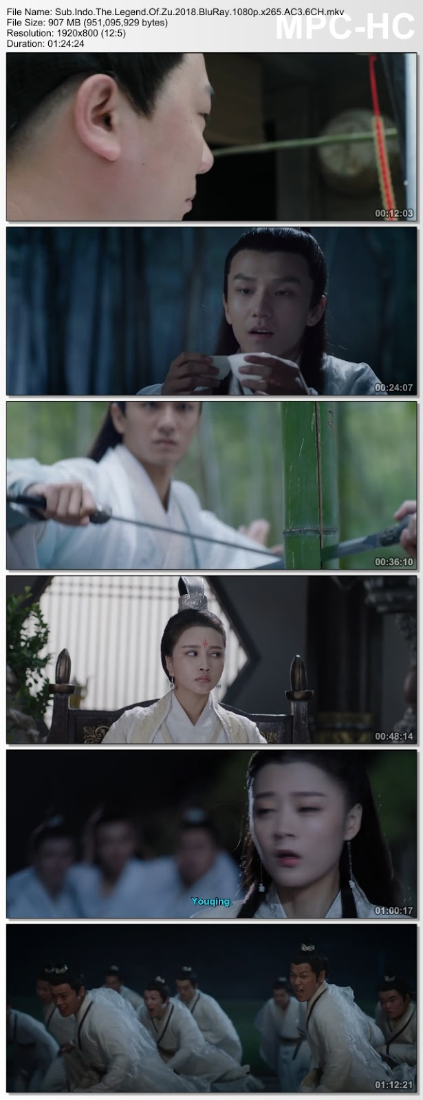 Screenshots Download Shu Shan Xiang Mo Zhuan (2018) BluRay 480p & 3GP Subtitle Indonesia
