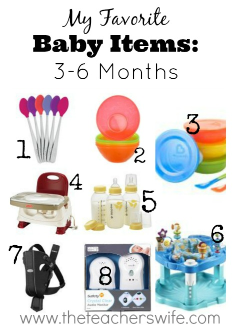 70fbf8561 My Favorite Baby Items  3-6 Months  - The Teacher s Wife