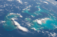 The Bahamas seen from the International Space Station