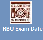 RBU Exam Schedule